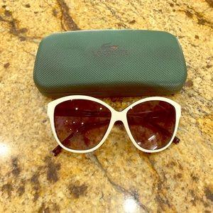 Lacoste White Sunglasses